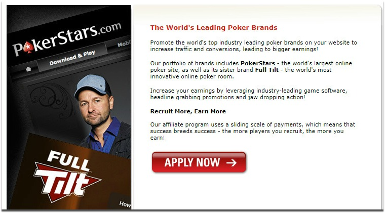 pokerstars affiliate signup page