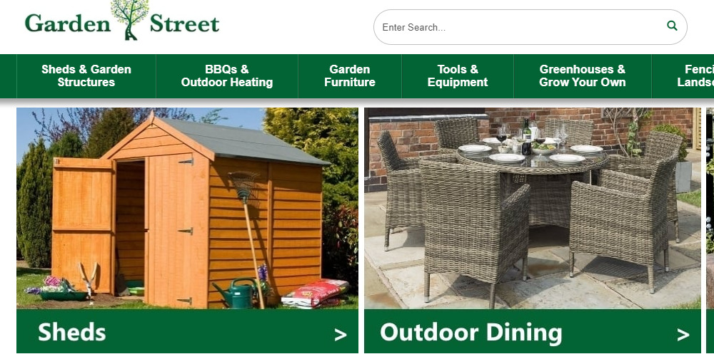 garden street home page