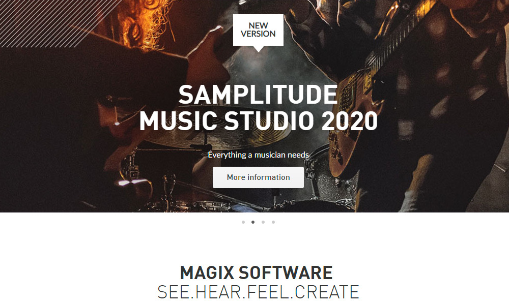 magix home page