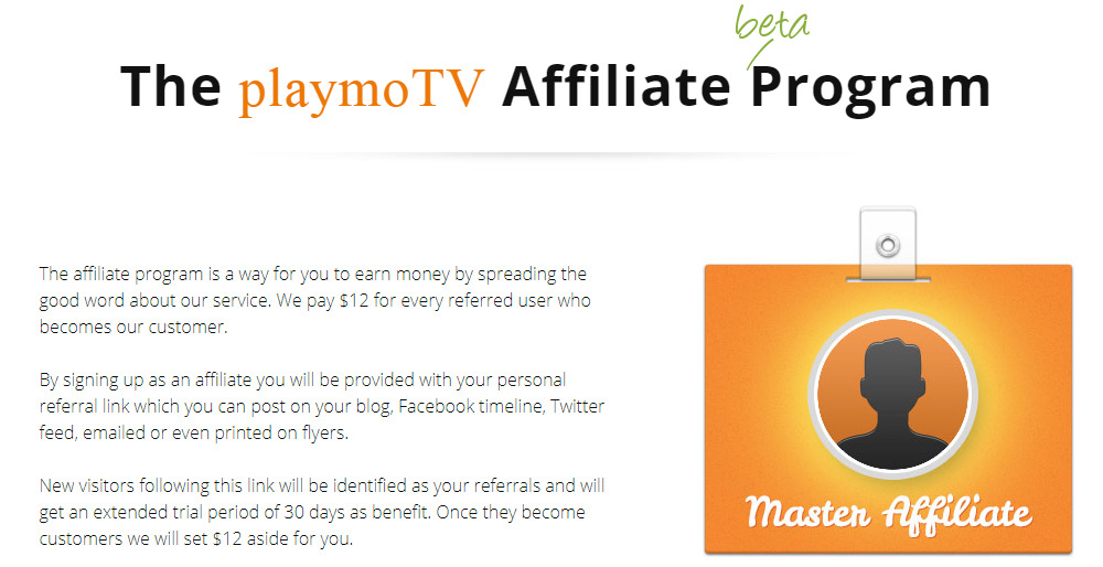 playmotv affiliate signup page