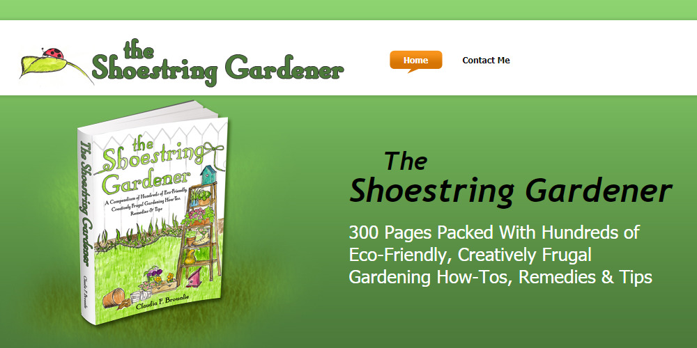 the shoestring gardener home page