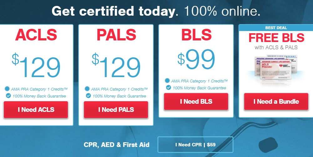 advanced medical certification home page