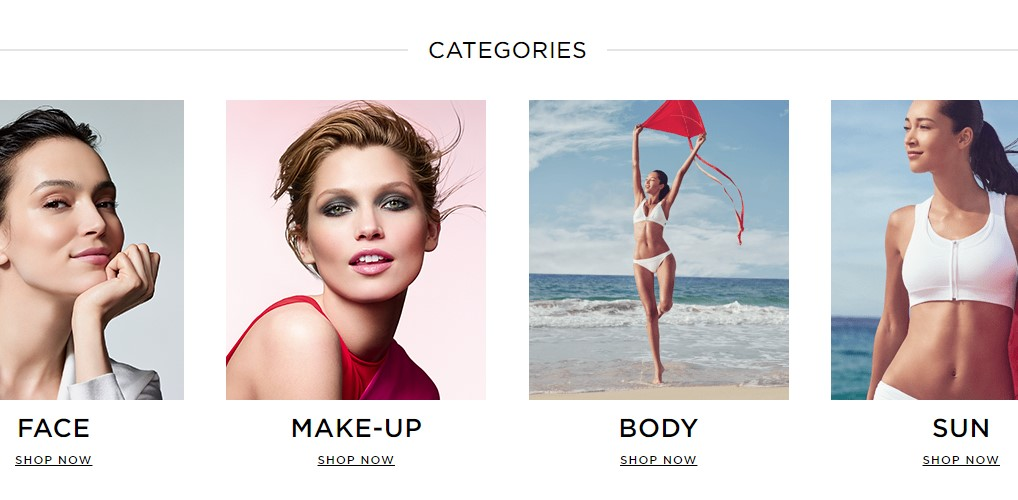 clarins home page
