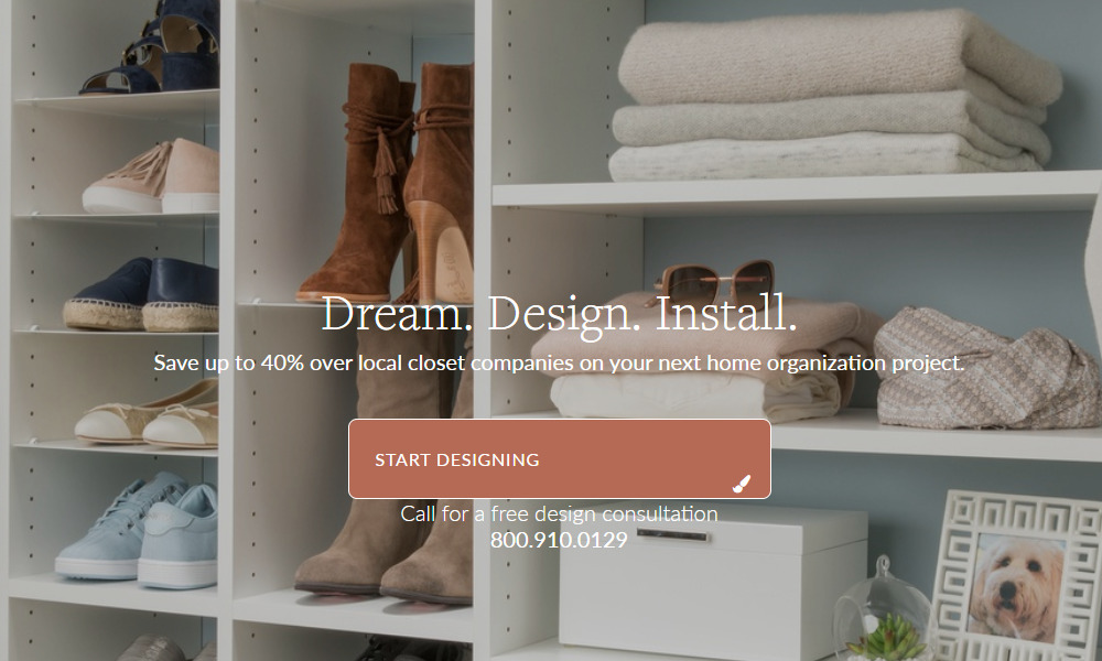 easy closets home page