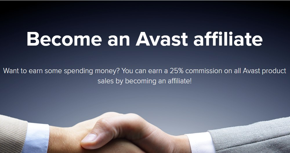 avast affiliate signup page