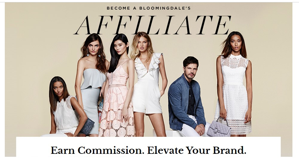 bloomingdales affiliate program sign up page