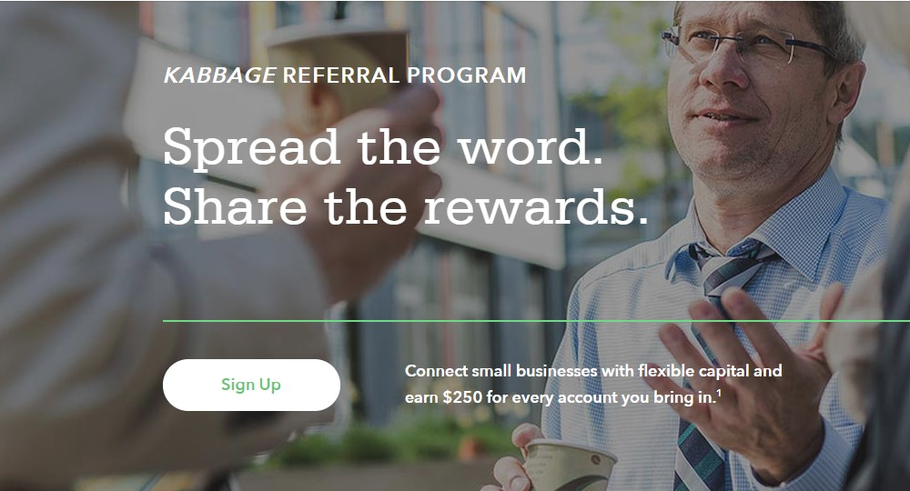 kabbage affiliate signup page