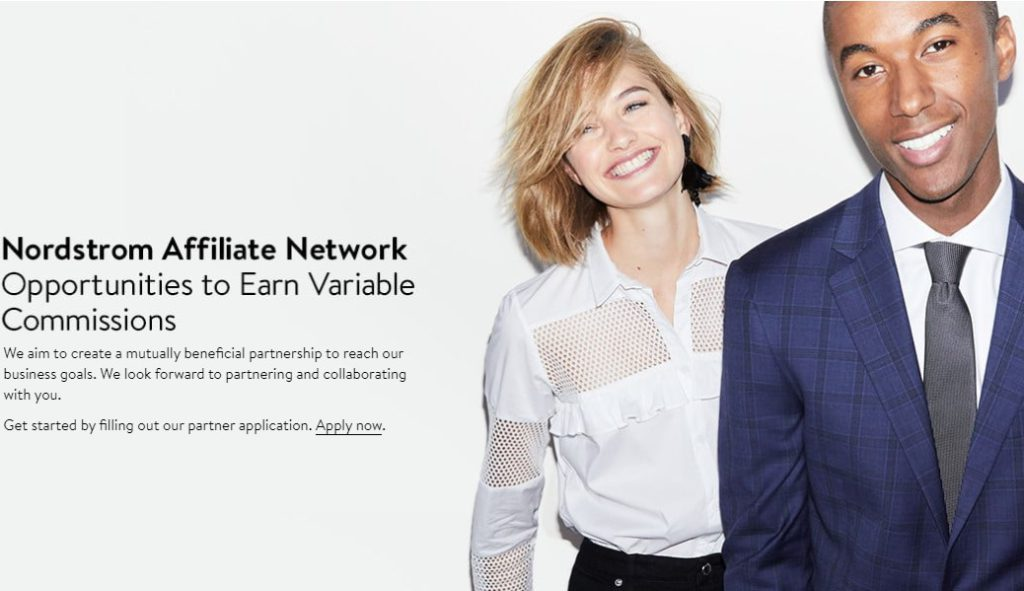nordstrom affiliate signup page