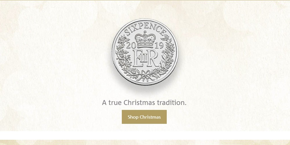 the royal mint home page