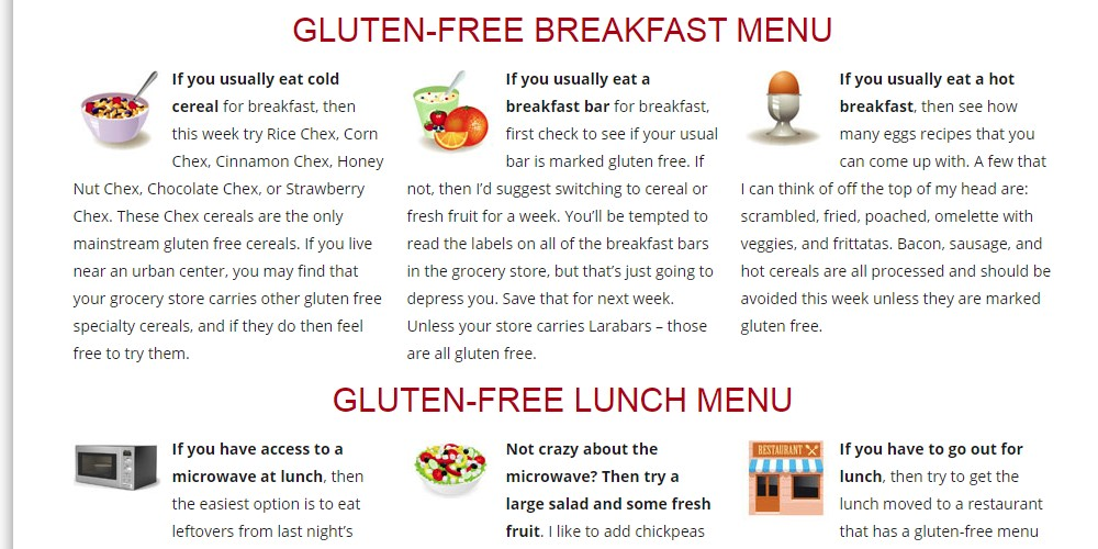 gluten free cooking school home page