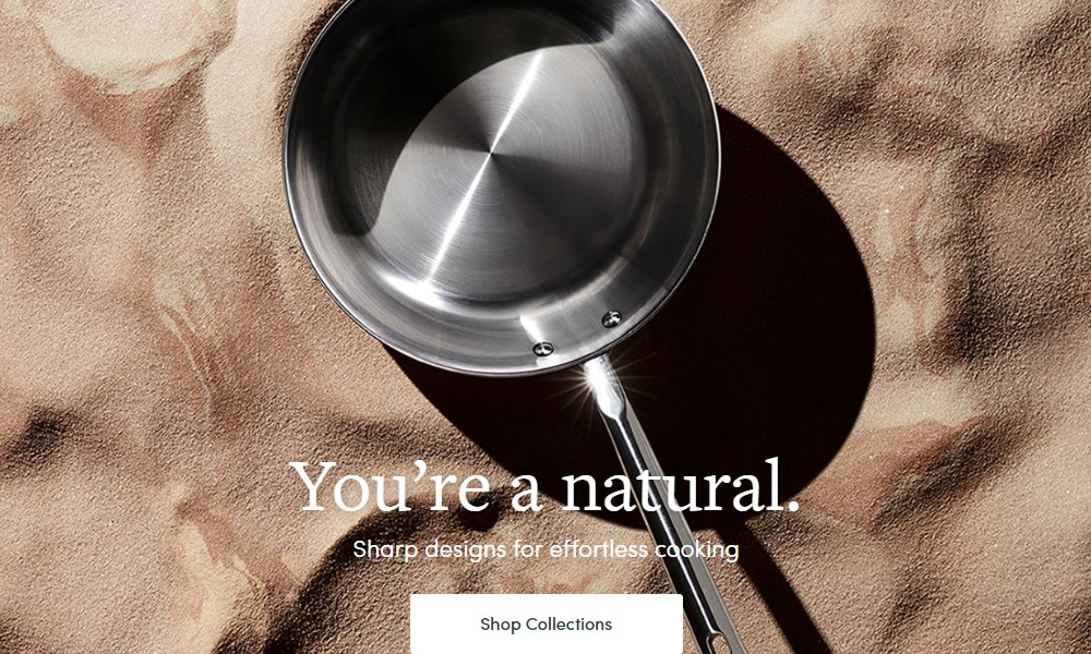 material kitchen home page