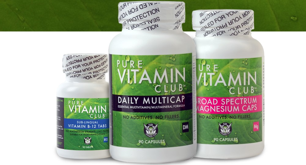 pure vitamin club home page