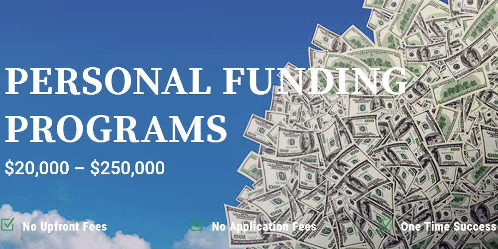 The funding company home page