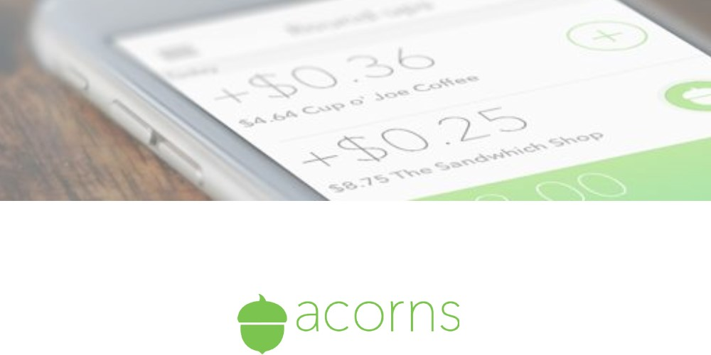 acorns affiliate sign up page