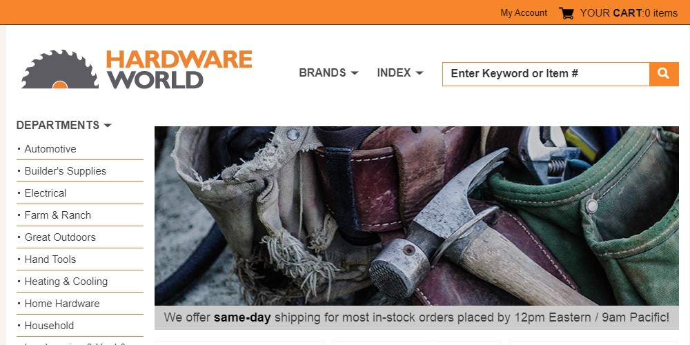 hardware world home page
