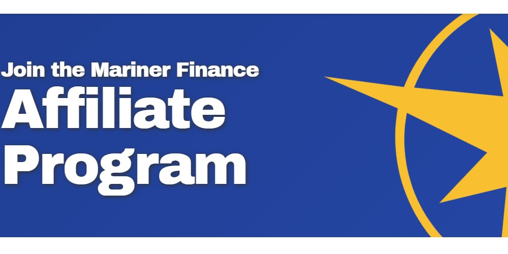 mariner finance affiliate sign up page