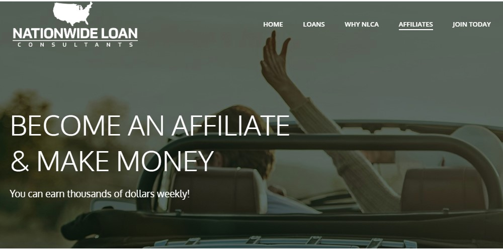 nationwide loan consultants affiliate signup page