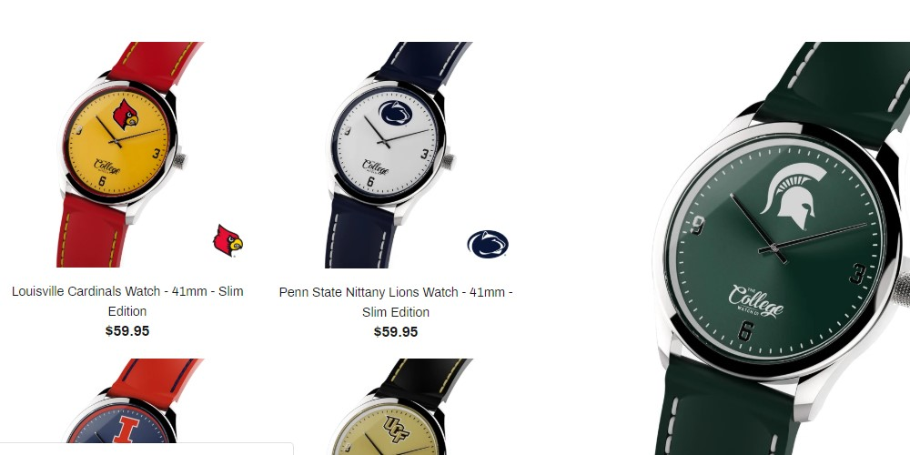 college watch co home page