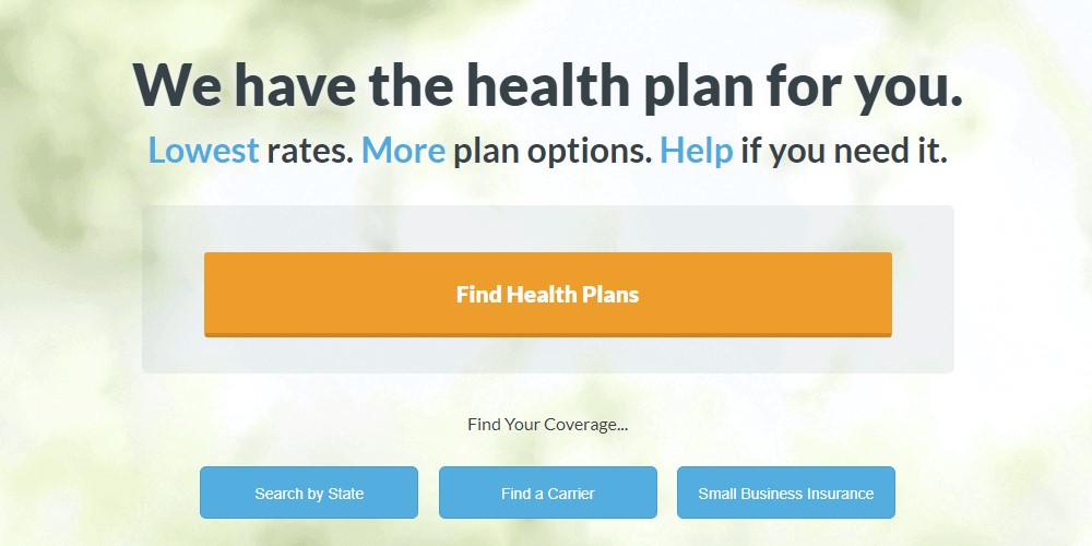go health home page