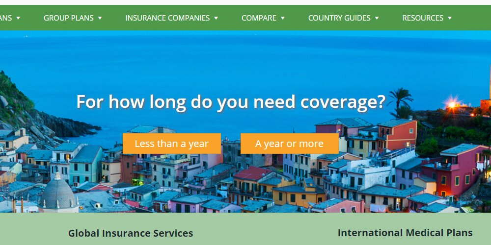 international insurance home page