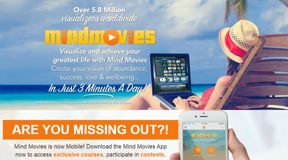 mind movies home page