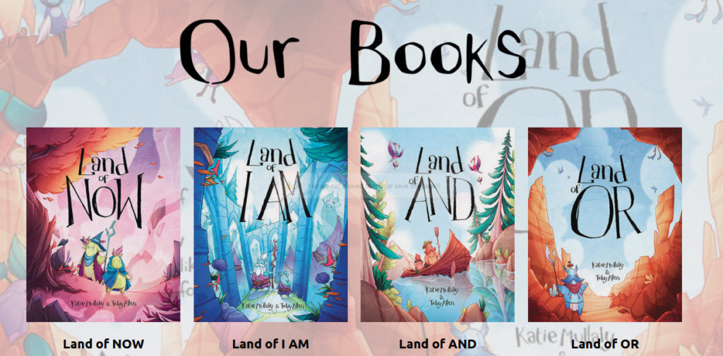 A selection of the books from the Land Of... Website