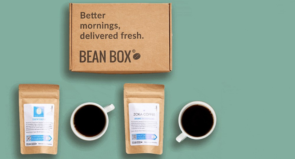 bean box home page