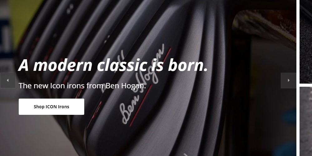 ben hogan golf home page