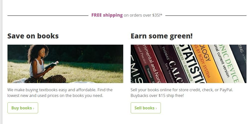bookstores.com home page