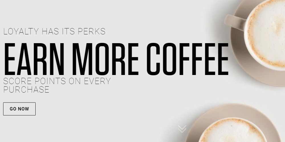 coffee for less home page