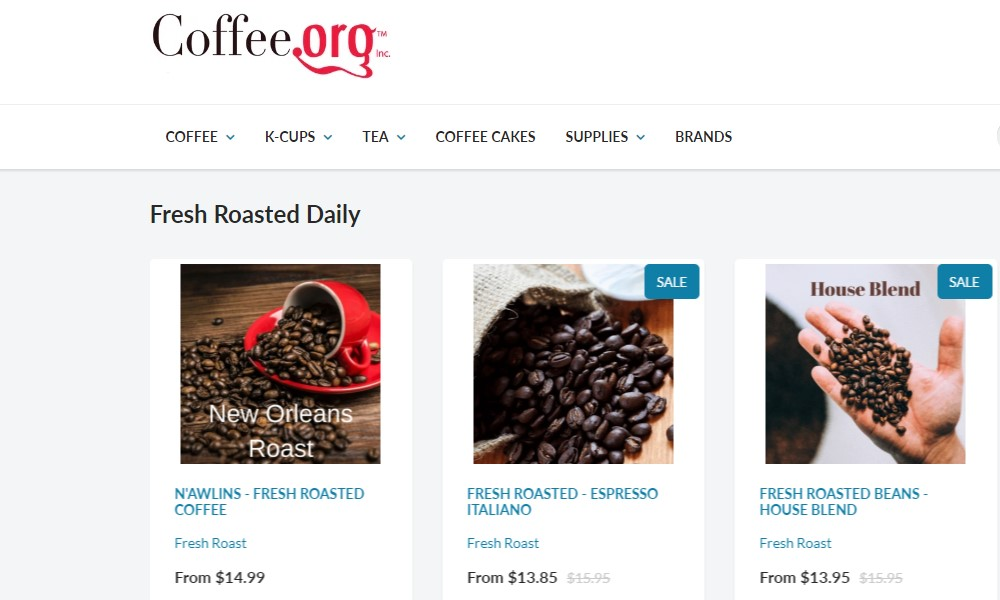 coffee.org home page