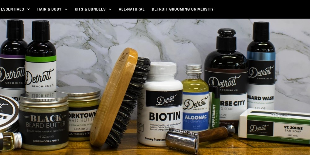 detroit grooming co home page