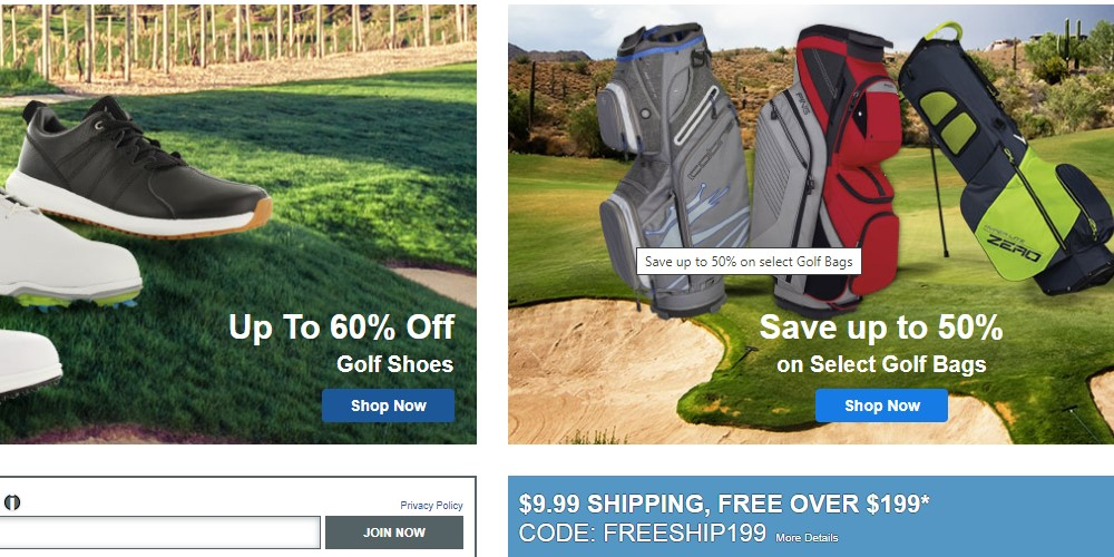 global golf home page