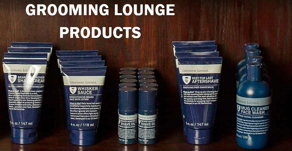 grooming lounge home page