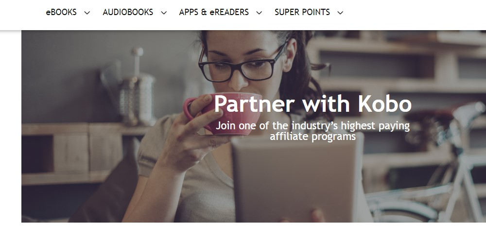 kobo affiliate sign up page