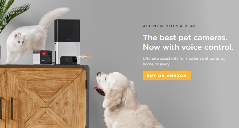 pet cube home page