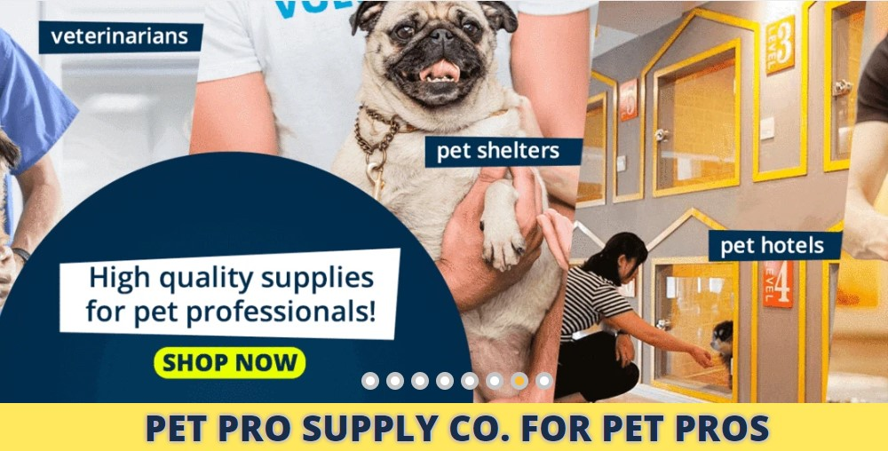 pet pro supply home page