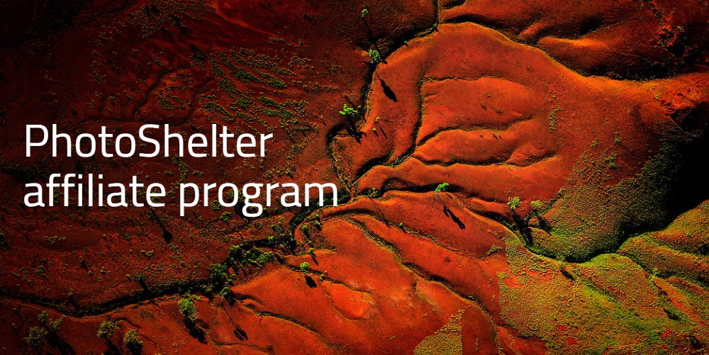 photo shelter affiliate sign up page