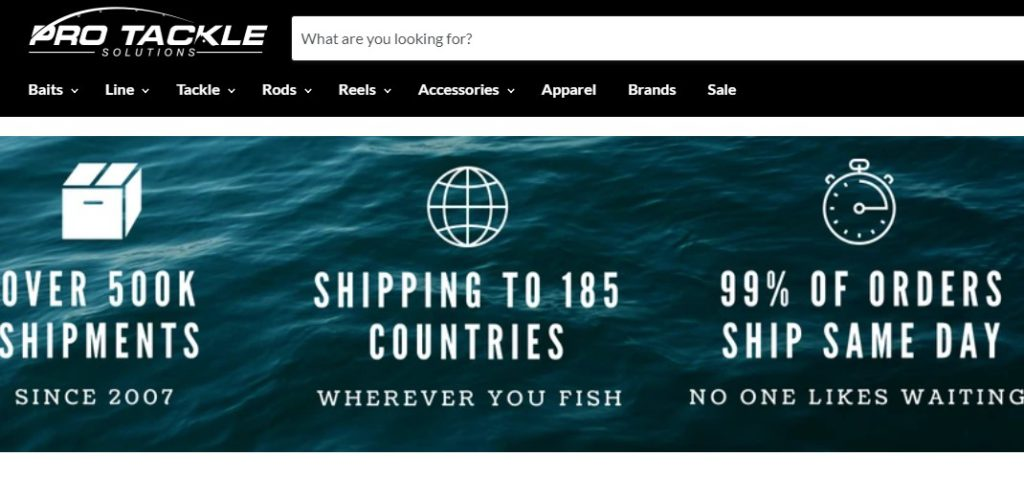 pro tackle solutions home page