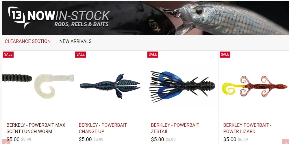 tackle depot home page