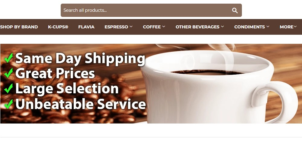 the coffee shopping network home page