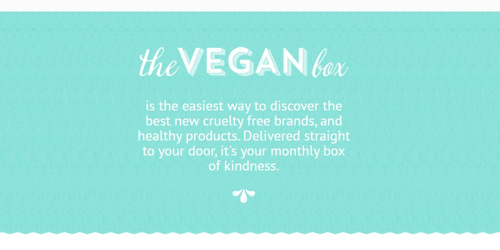 the vegan box home page
