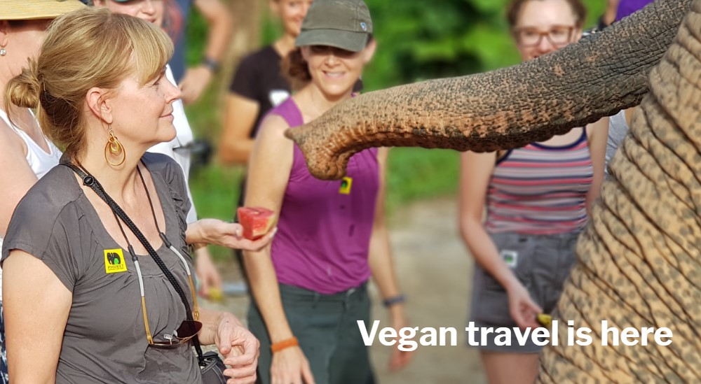 world vegan travel home page