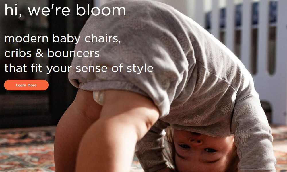 bloom home page