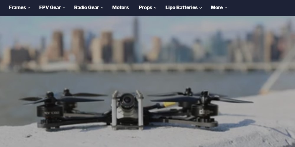 drone racing parts home page