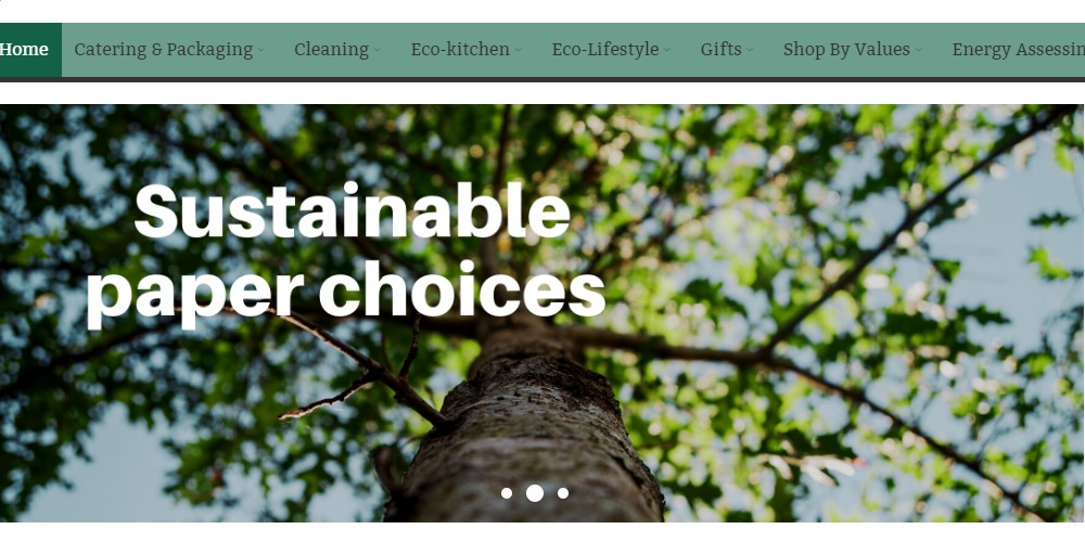 going green solutions home page