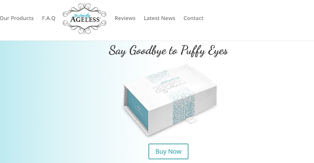 instantly ageless home page