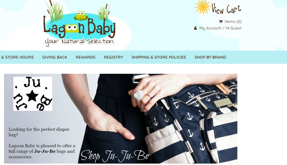 lagoon baby home page
