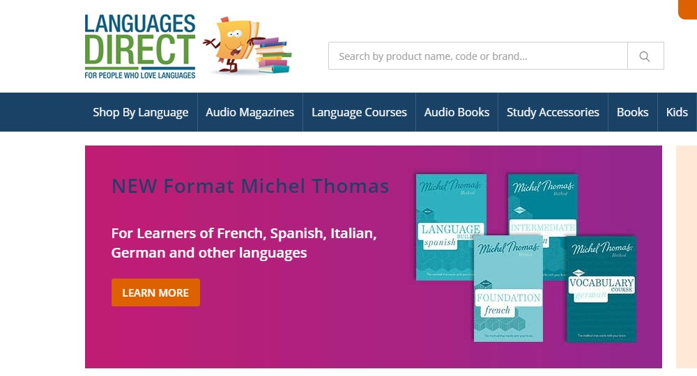 languages direct home page