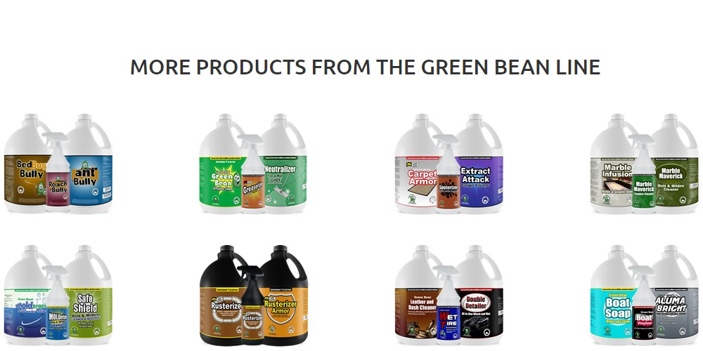 my cleaning products home page